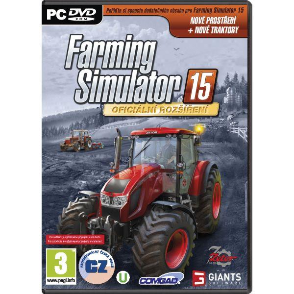 Farming Simulator 15: Oficiálne rozšírenie CZ