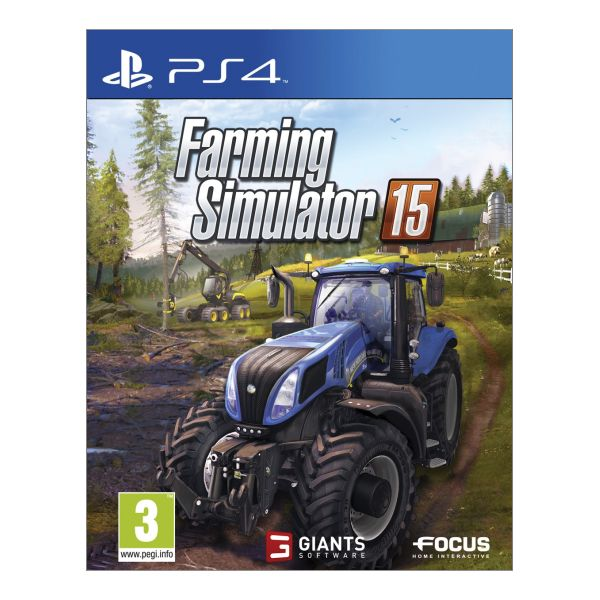 Farming Simulator 15 [PS4] - BAZÁR (použitý tovar)
