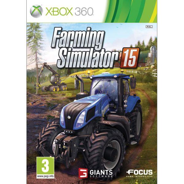 Farming Simulator 15 [XBOX 360] - BAZÁR (použitý tovar)