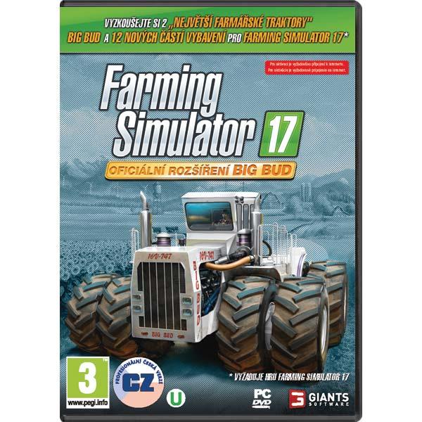 Farming Simulator 17 CZ (Oficiálne rozšírenie Big Bud)