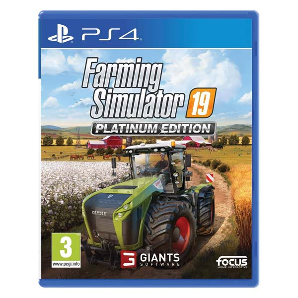 Farming Simulator 19 CZ (Platinum Edition)