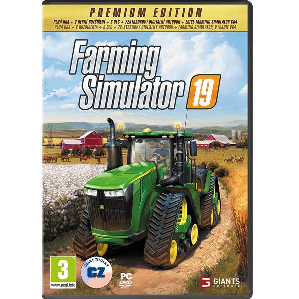 Farming Simulator 19 CZ (Premium Edition) PC