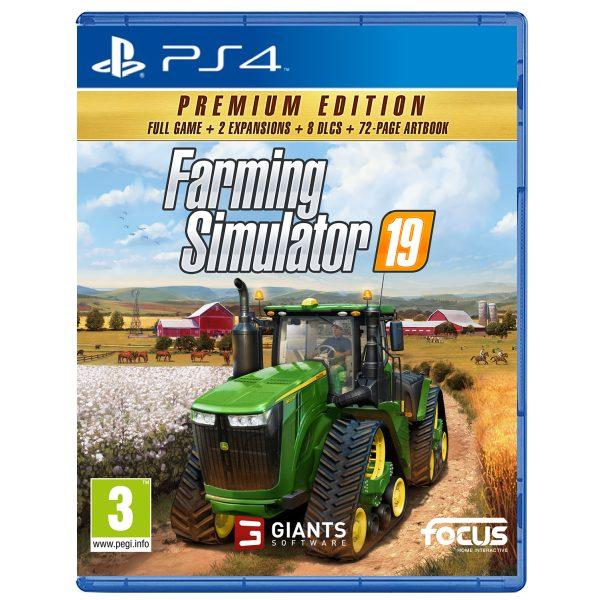Farming Simulator 19 CZ (Premium Edition) PS4