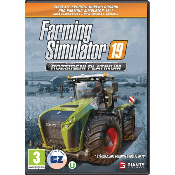 Farming Simulator 19: Rozšírenie Platinum CZ