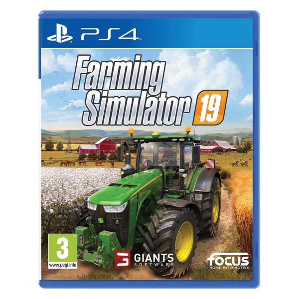 Farming Simulator 19 [PS4] - BAZÁR (použitý tovar)