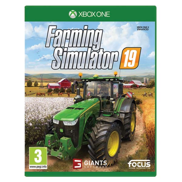 Farming Simulator 19 [XBOX ONE] - BAZÁR (použitý tovar)