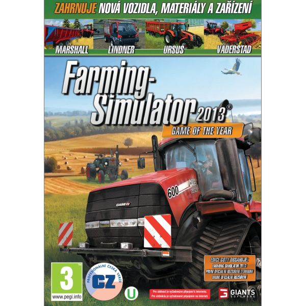 Farming Simulator 2013 CZ (Game of the Year)