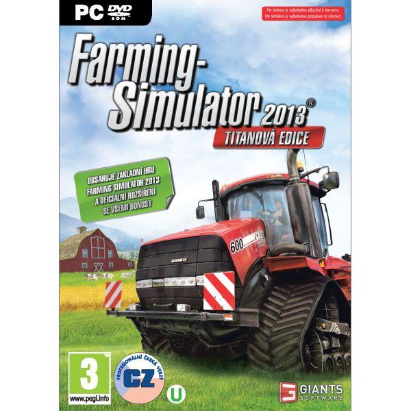 Farming Simulator 2013 CZ (Titánová edícia)