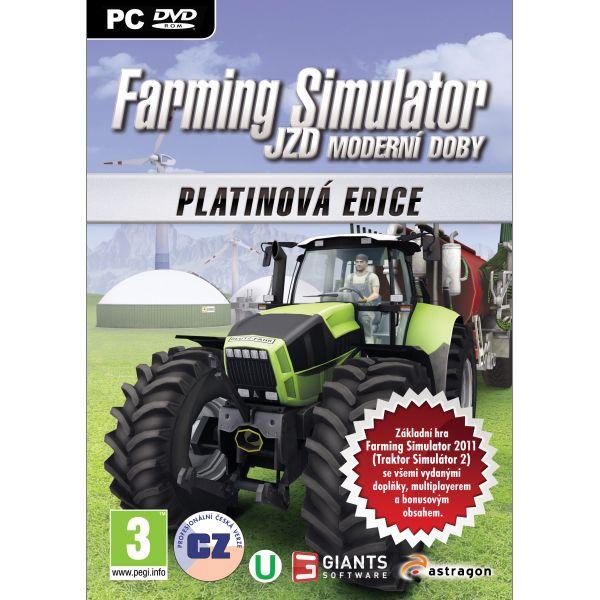 Farming Simulator: JRD modernej doby CZ (Platinová edícia) PC