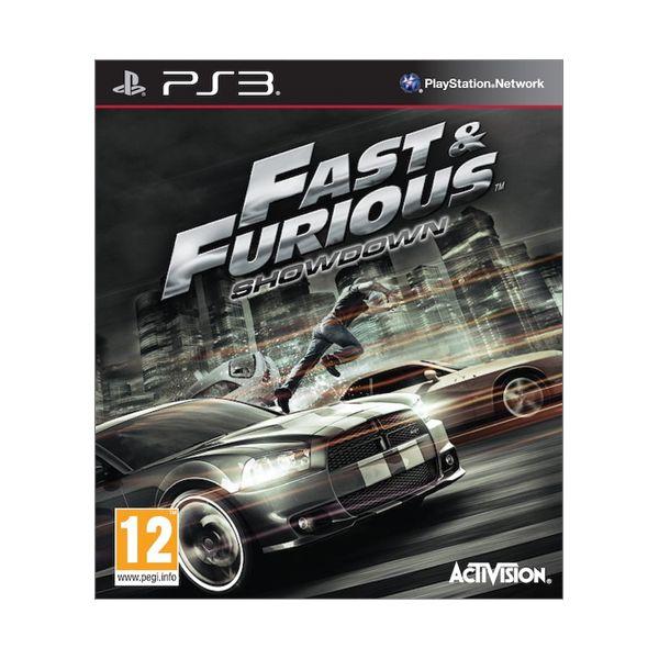 Fast & Furious: Showdown [PS3] - BAZÁR (použitý tovar)