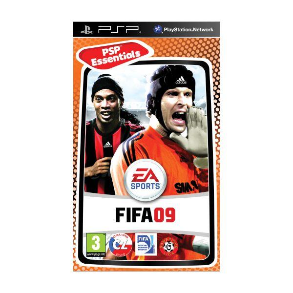 FIFA 09 CZ [PSP] - BAZÁR (použitý tovar)