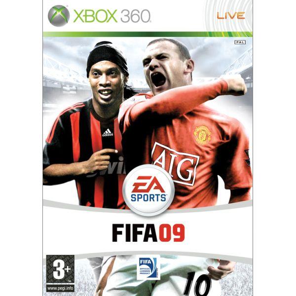 FIFA 09 [XBOX 360] - BAZÁR (použitý tovar)