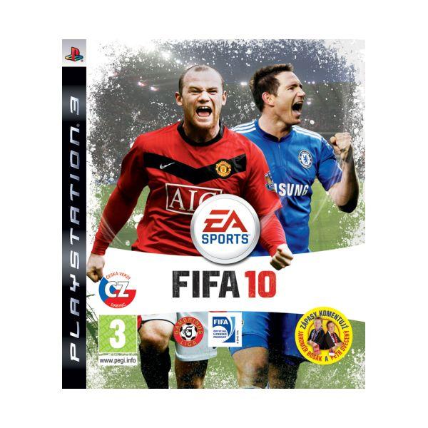 FIFA 10 CZ PS3 - BAZÁR (použitý tovar)