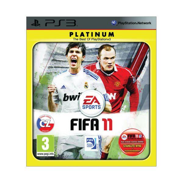FIFA 11 CZ-PS3 - BAZÁR (použitý tovar)