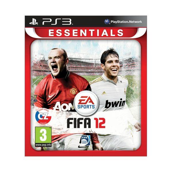 FIFA 12 CZ-PS3 - BAZÁR (použitý tovar)