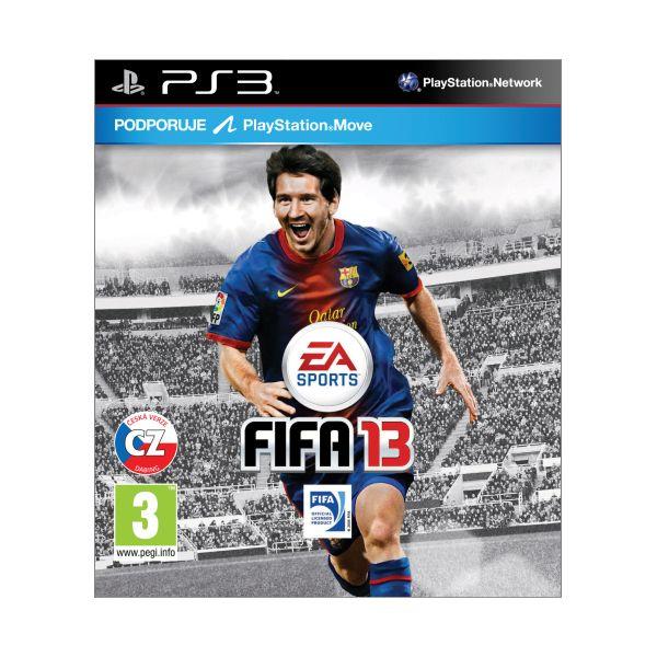 FIFA 13 CZ PS3 - BAZÁR (použitý tovar)