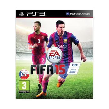 FIFA 15 CZ [PS3] - BAZÁR (použitý tovar)