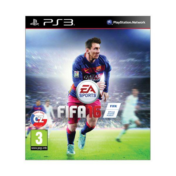 FIFA 16 CZ [PS3] - BAZÁR (použitý tovar)