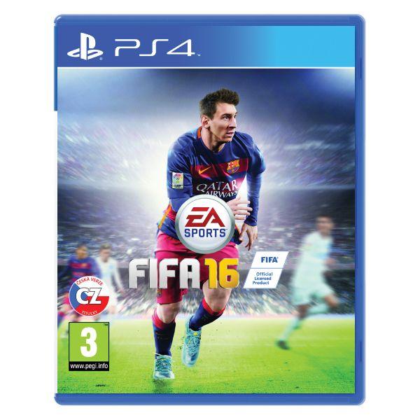 FIFA 16 CZ [PS4] - BAZÁR (použitý tovar)