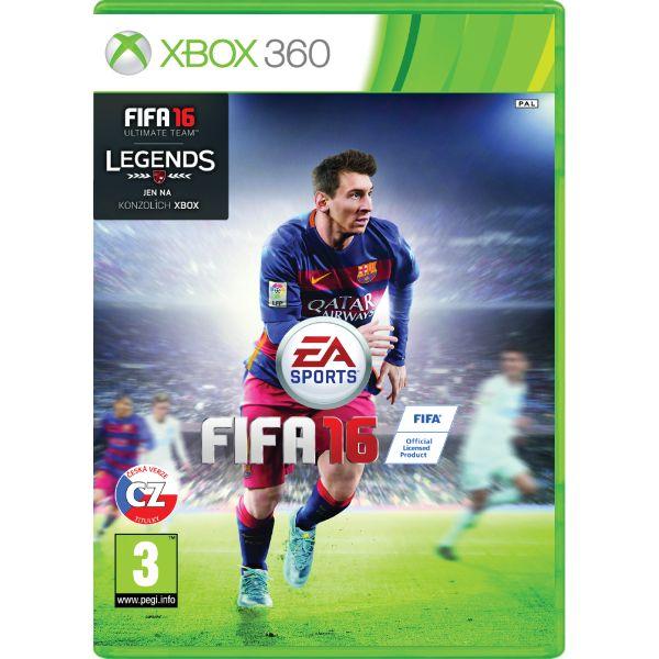 FIFA 16 CZ XBOX 360