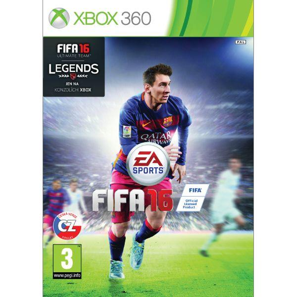 FIFA 16 CZ [XBOX 360] - BAZÁR (použitý tovar)