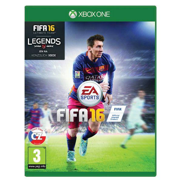 FIFA 16 CZ XBOX ONE