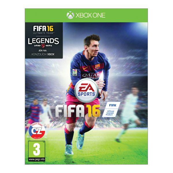 FIFA 16 CZ [XBOX ONE] - BAZÁR (použitý tovar)