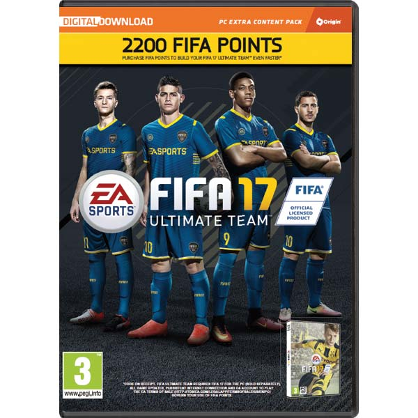 FIFA 17 (2200 FUT Points)