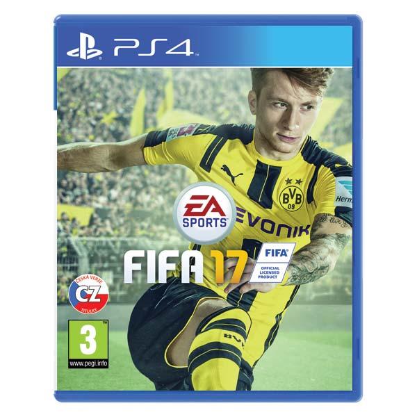 FIFA 17 CZ [PS4] - BAZÁR (použitý tovar)