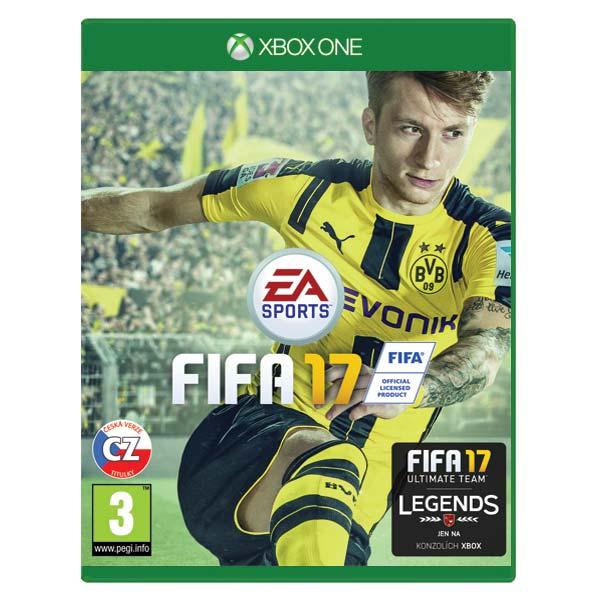 FIFA 17 CZ [XBOX ONE] - BAZÁR (použitý tovar)
