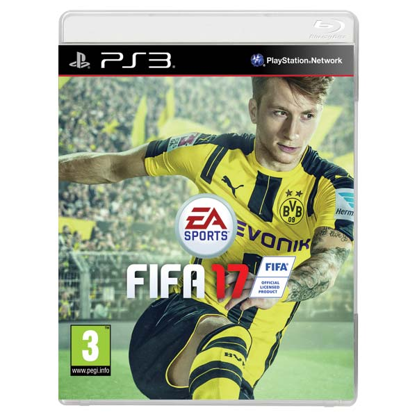 FIFA 17 [PS3] - BAZÁR (použitý tovar)