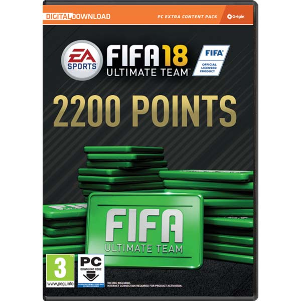 FIFA 18 (2200 FUT Points)
