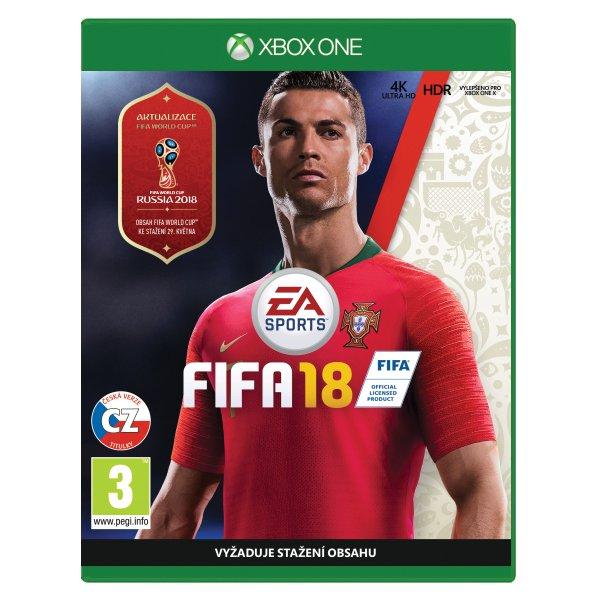 FIFA 18 CZ XBOX ONE