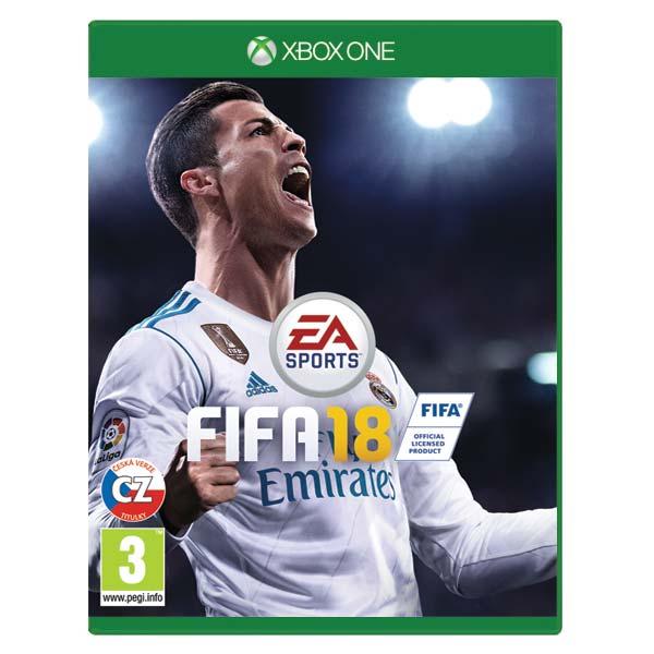 FIFA 18 CZ [XBOX ONE] - BAZÁR (použitý tovar)