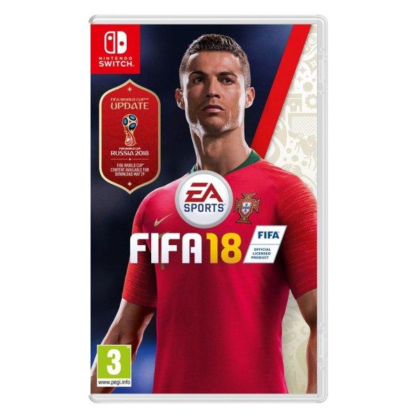FIFA 18  [NSW] - BAZÁR (použitý tovar)