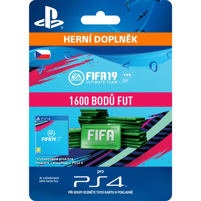 FIFA 19 Ultimate Team (CZ 1600 FIFA Points)