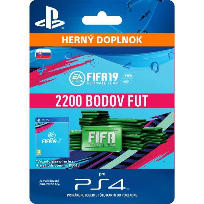 FIFA 19 Ultimate Team (SK 2200 FIFA Points)