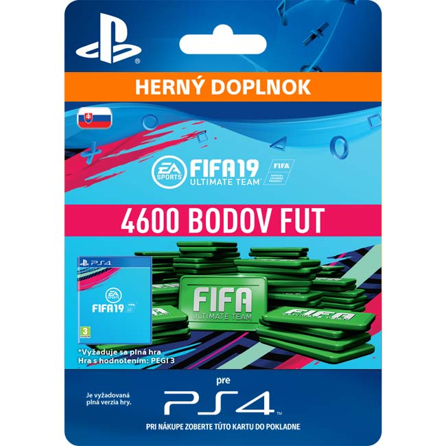 FIFA 19 Ultimate Team (SK 4600 FIFA Points)