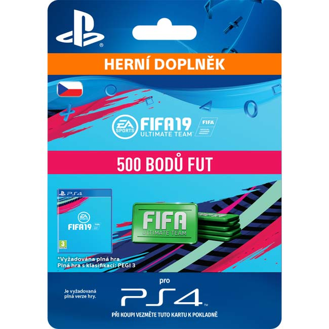 FIFA 19 Ultimate Team (CZ 500 FIFA Points)