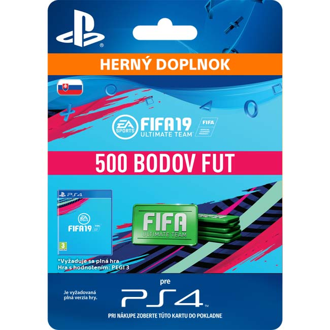 FIFA 19 Ultimate Team (SK 500 FIFA Points)