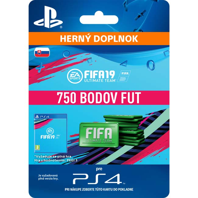 FIFA 19 Ultimate Team (SK 750 FIFA Points)