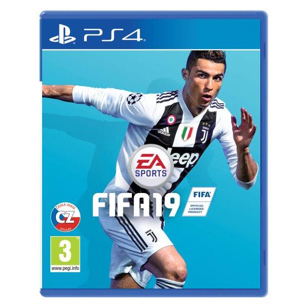 FIFA 19 CZ [PS4] - BAZÁR (použitý tovar)