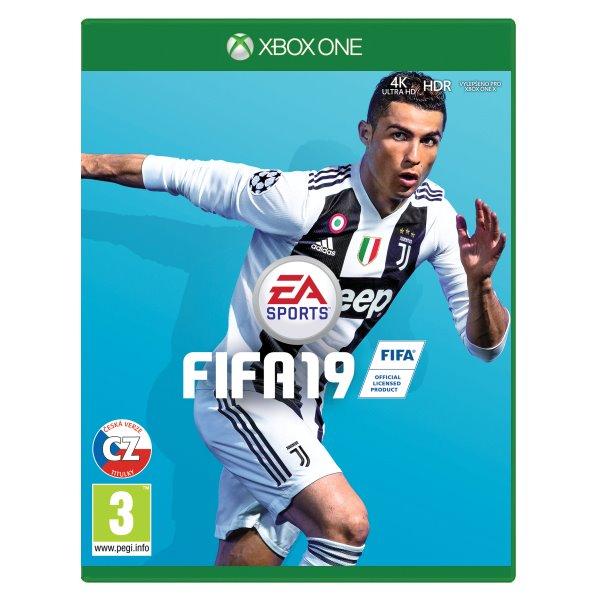 FIFA 19 CZ [XBOX ONE] - BAZÁR (použitý tovar)