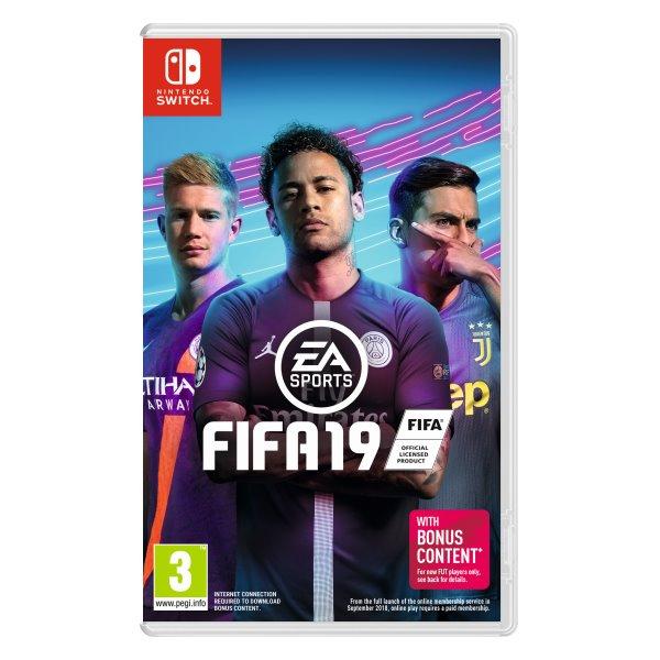 FIFA 19 [NSW] - BAZÁR (použitý tovar)