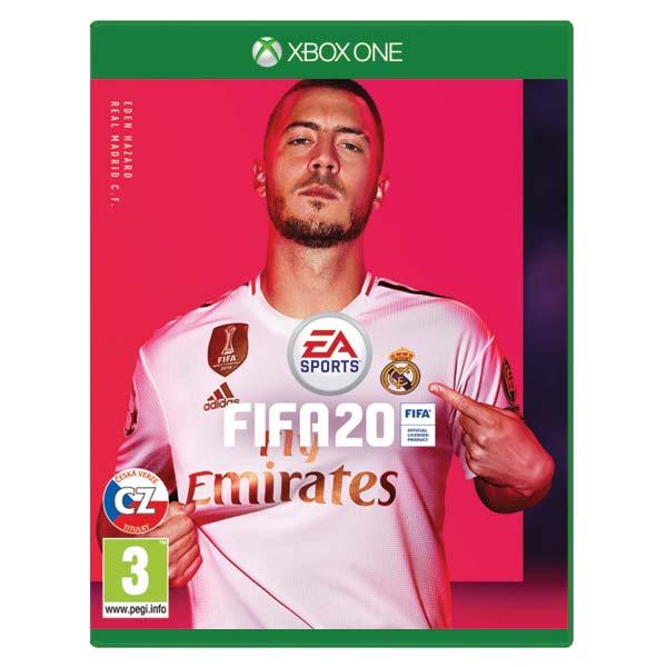 FIFA 20 CZ [XBOX ONE] - BAZÁR (použitý tovar)