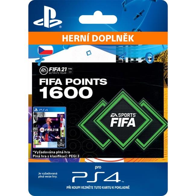 FIFA 21 (CZ 1600 FIFA Points)