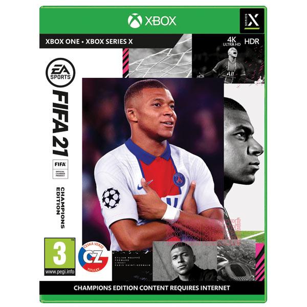 FIFA 21 CZ (Champions Edition) XBOX ONE