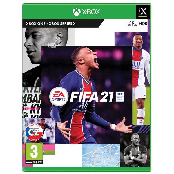 FIFA 21 CZ XBOX ONE