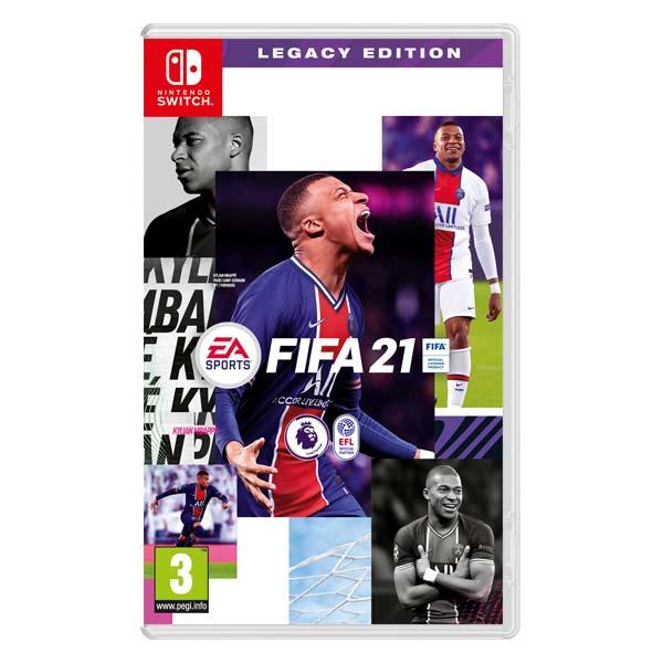 FIFA 21 (Legacy Edition) [NSW] - BAZÁR (použitý tovar)