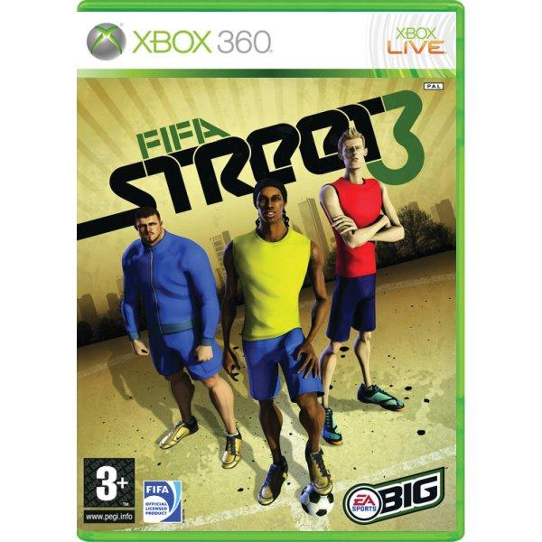 FIFA Street 3- XBOX 360- BAZÁR (použitý tovar)